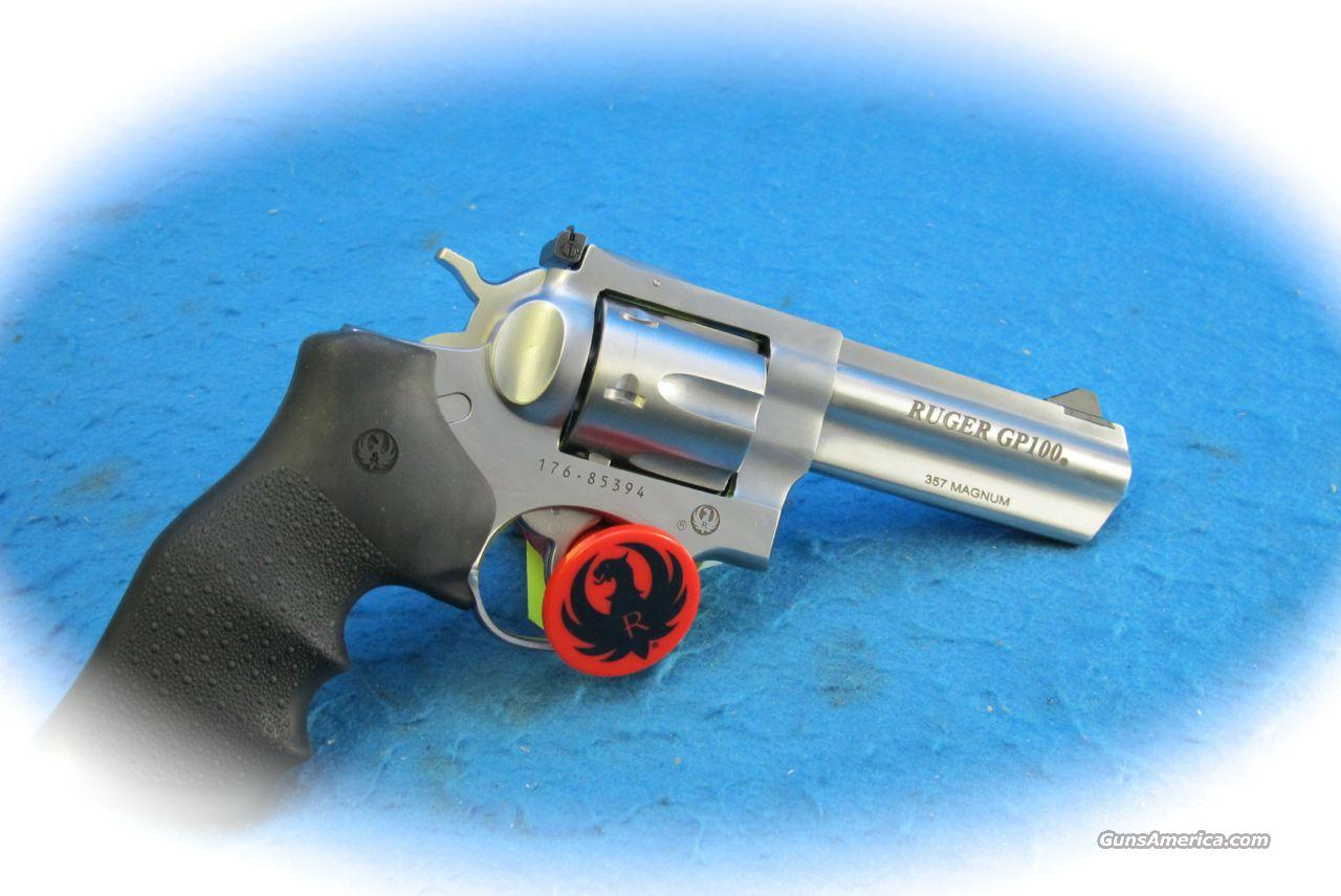 Ruger GP100 Double Action .357 Mag SS Revolver **New**  Guns > Pistols > Ruger Double Action Revolver > Security Six Type