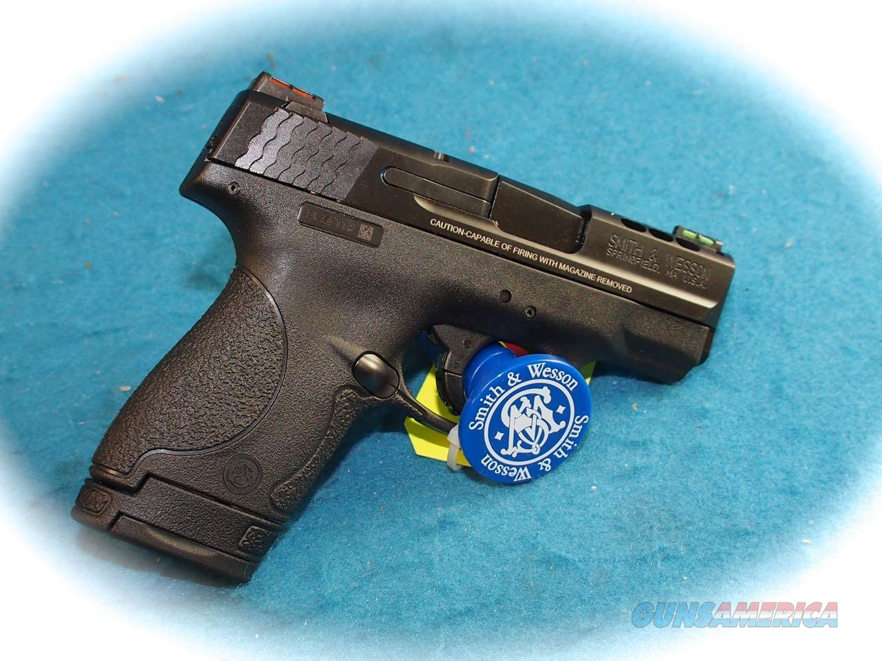 Smith & Wesson M&P Shield .40 S&W Performance Center Ported Pistol **New**  Guns > Pistols > Smith & Wesson Pistols - Autos > Shield