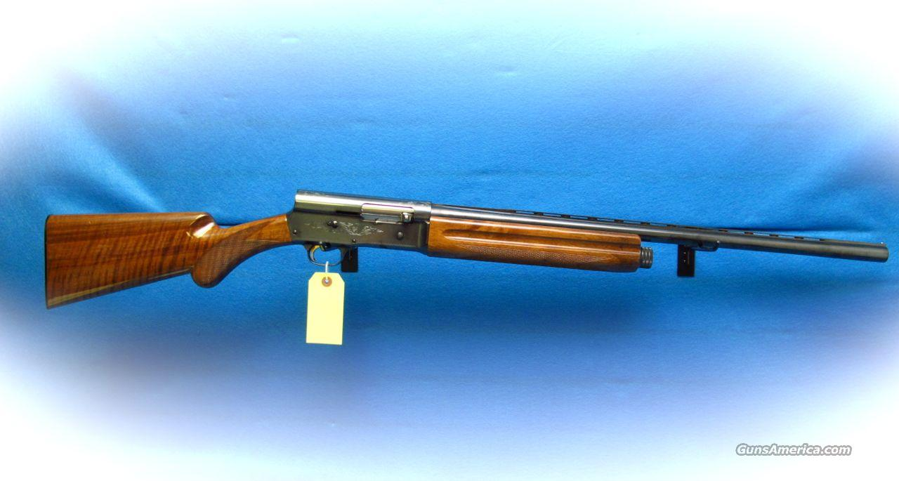 Browning A-5 Light Twelve 12 Ga. Semi Auto Shotgun **Used**  Guns > Shotguns > Browning Shotguns > Autoloaders > Hunting