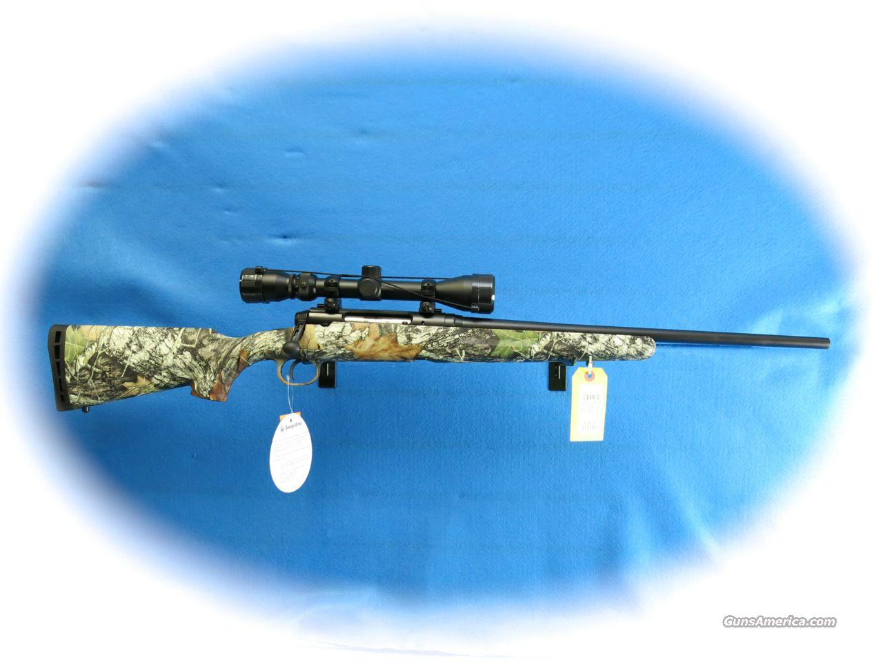 Savage Axis Youth Model Bolt Action Rifle/Scope Pkg. Camo 7mm-08 Cal. **New**  Guns > Rifles > Savage Rifles > Standard Bolt Action > Sporting
