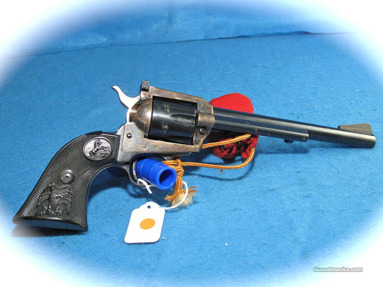 Colt New Frontier Buntline 22 Convertible 7.5 Inch Bbl **USED**  Guns > Pistols > Colt Single Action Revolvers - Modern (22 Cal.)