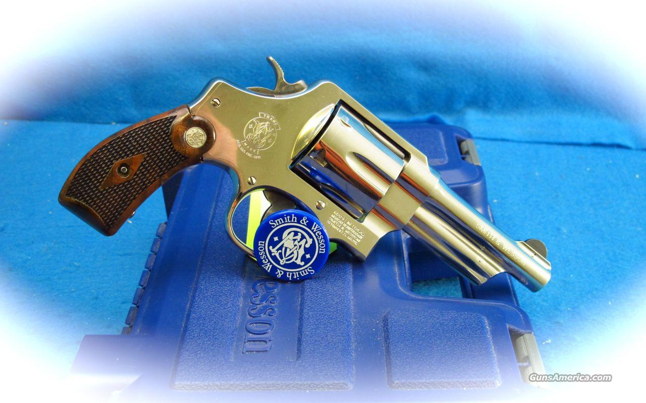 Smith & Wesson Model 21 Nickel .44 Spl Revolver  Guns > Pistols > Smith & Wesson Revolvers > Full Frame Revolver