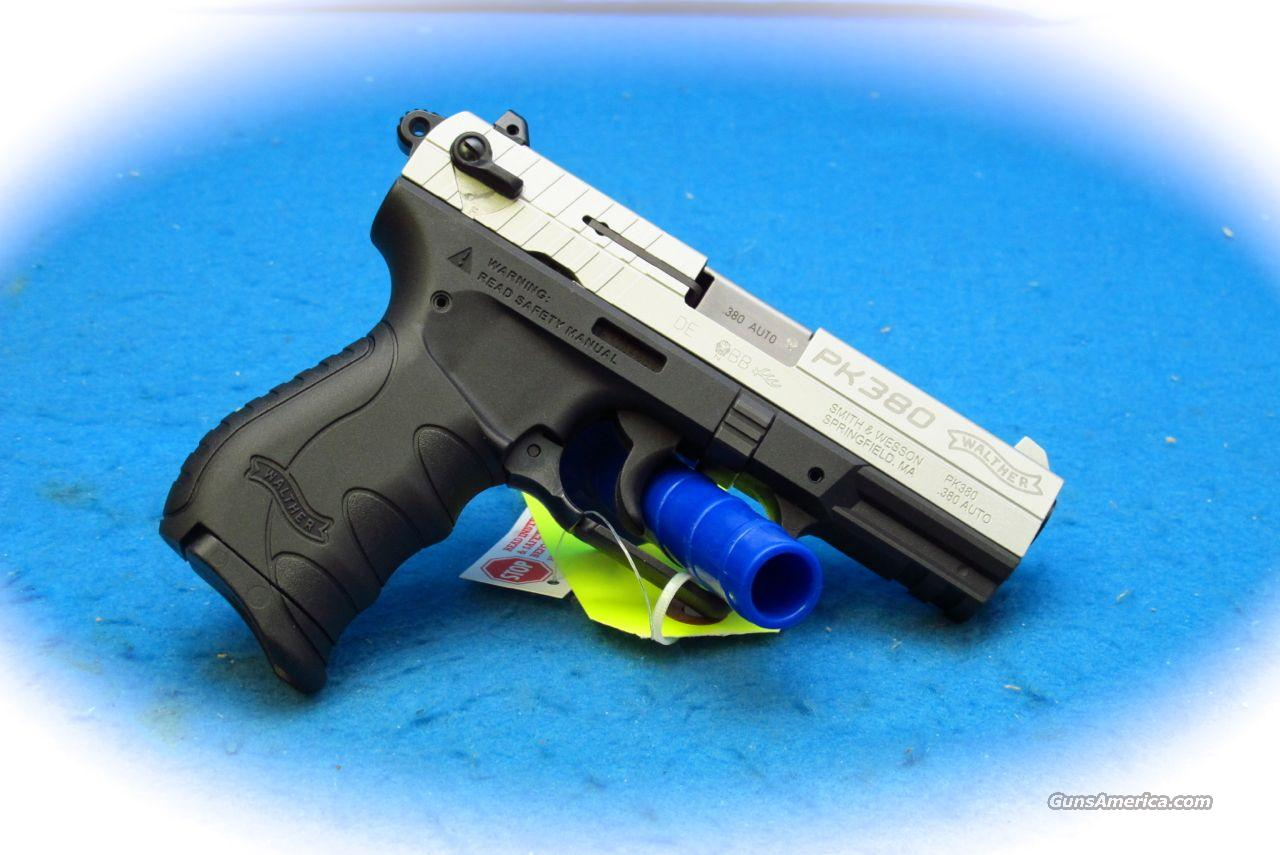 Walther PK380 Two-Tone .380ACP Pistol **New**  Guns > Pistols > Walther Pistols > Post WWII > PK380