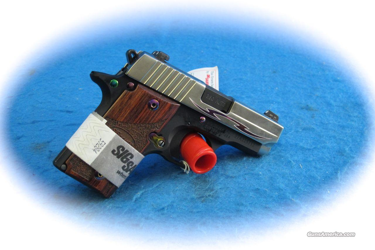 Sig Sauer P238 Tribal .380 ACP PIstol **As New**  Guns > Pistols > Sig - Sauer/Sigarms Pistols > P238