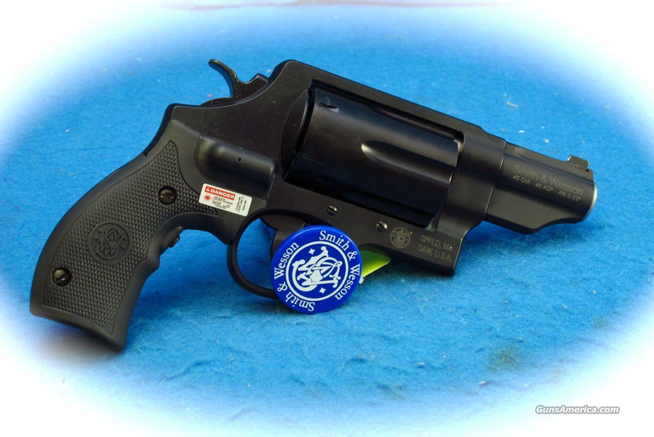 Smith & Wesson Governor .45ACP/.45Colt/.410 Shotshell Revolver with CT Laser Grips **New**  Guns > Pistols > Smith & Wesson Revolvers > Full Frame Revolver