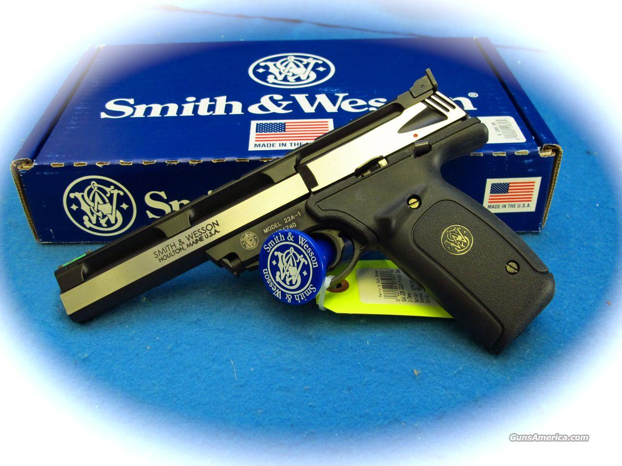 Smith & Wesson Model 22A .22 LR Cal Pistol **New**  Guns > Pistols > Smith & Wesson Pistols - Autos > .22 Autos