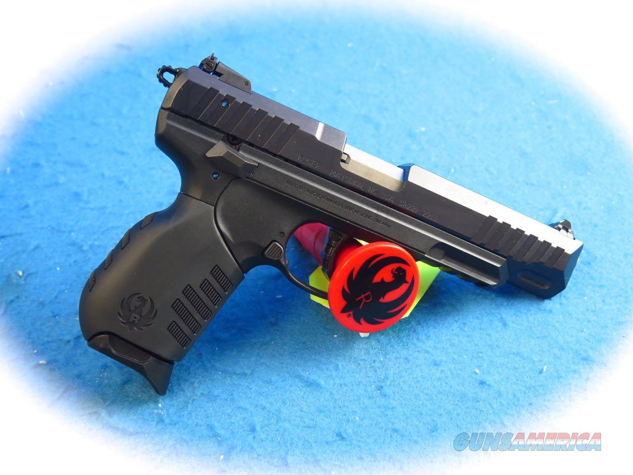 Ruger SR22 .22LR Semi Auto Pistol 4.5 BBL Model 3620 **New**  Guns > Pistols > Ruger Semi-Auto Pistols > SR Family > SR22