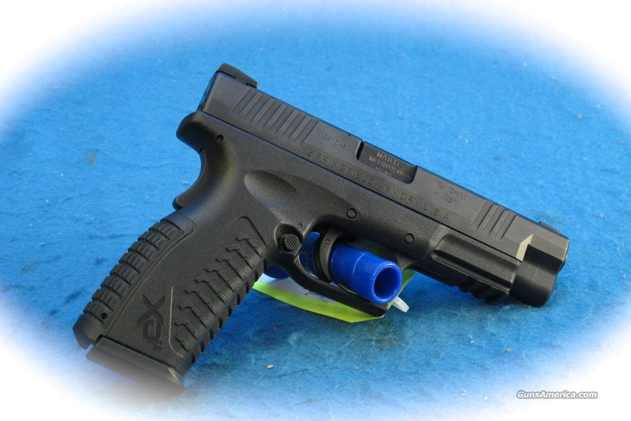 Springfield Armory XD-M 9mm 4.5 Pistol **Used**  Guns > Pistols > Springfield Armory Pistols > XD-M