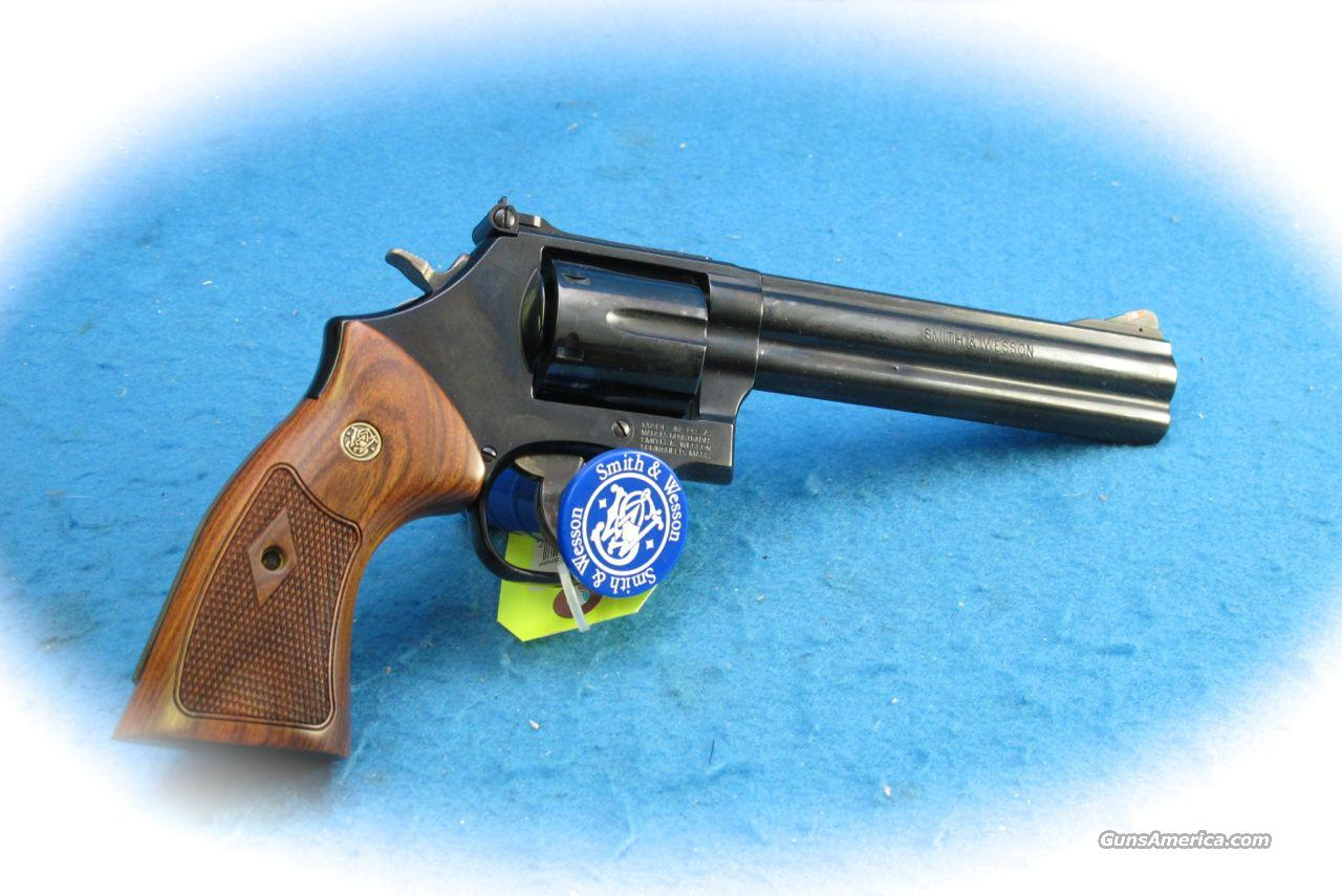 Smith & Wesson Model 586 .356 Mag Blue 6 Inch BBL **New**  Guns > Pistols > Smith & Wesson Revolvers > Full Frame Revolver