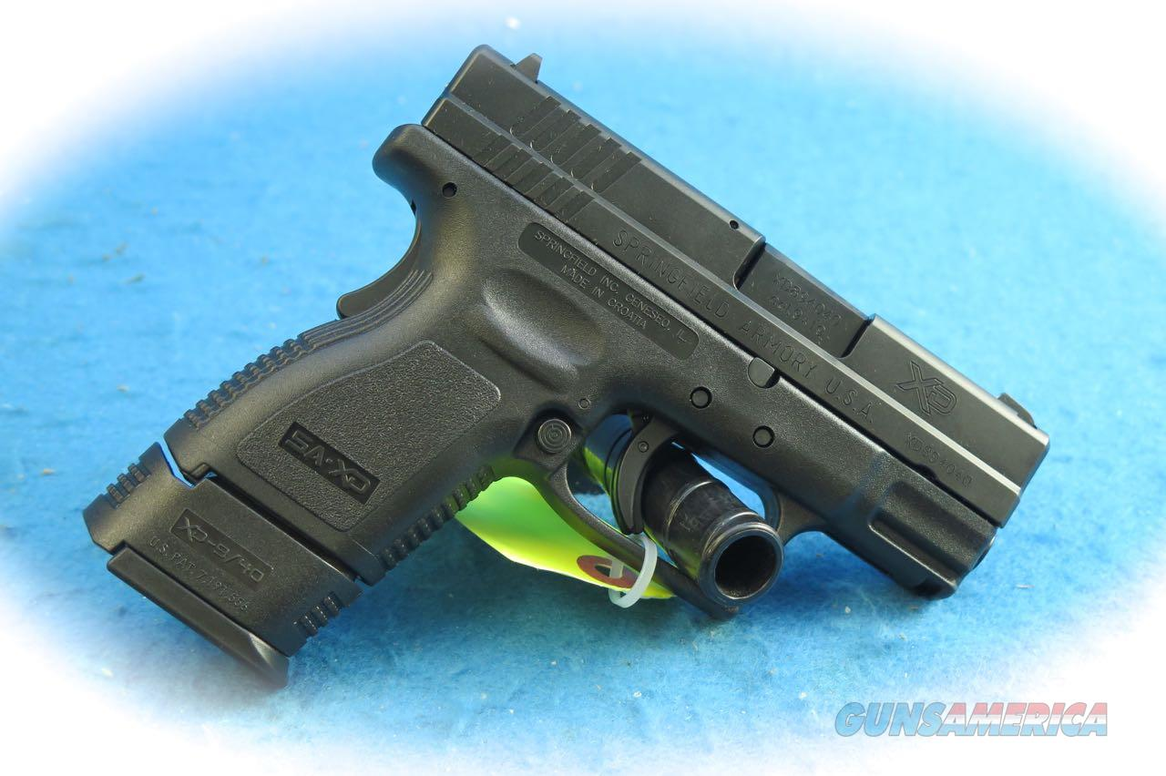 Springfield Armory XD Sub-Compact 9mm Pistol **New**  Guns > Pistols > Springfield Armory Pistols > XD (eXtreme Duty)