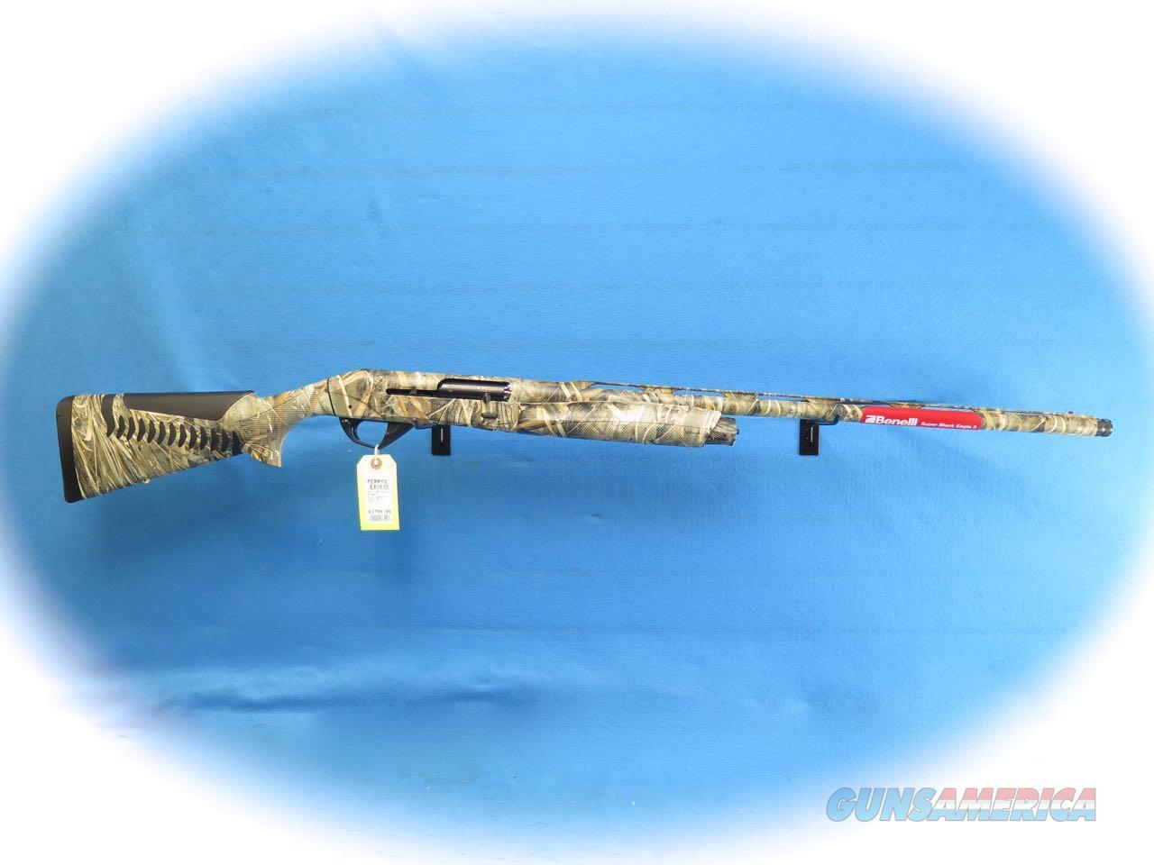 Benelli Super Black Eagle 3 Semi Auto 12 Ga. Shotgun Max-5 Camo Model 10301 **New**  Guns > Shotguns > Benelli Shotguns > Sporting
