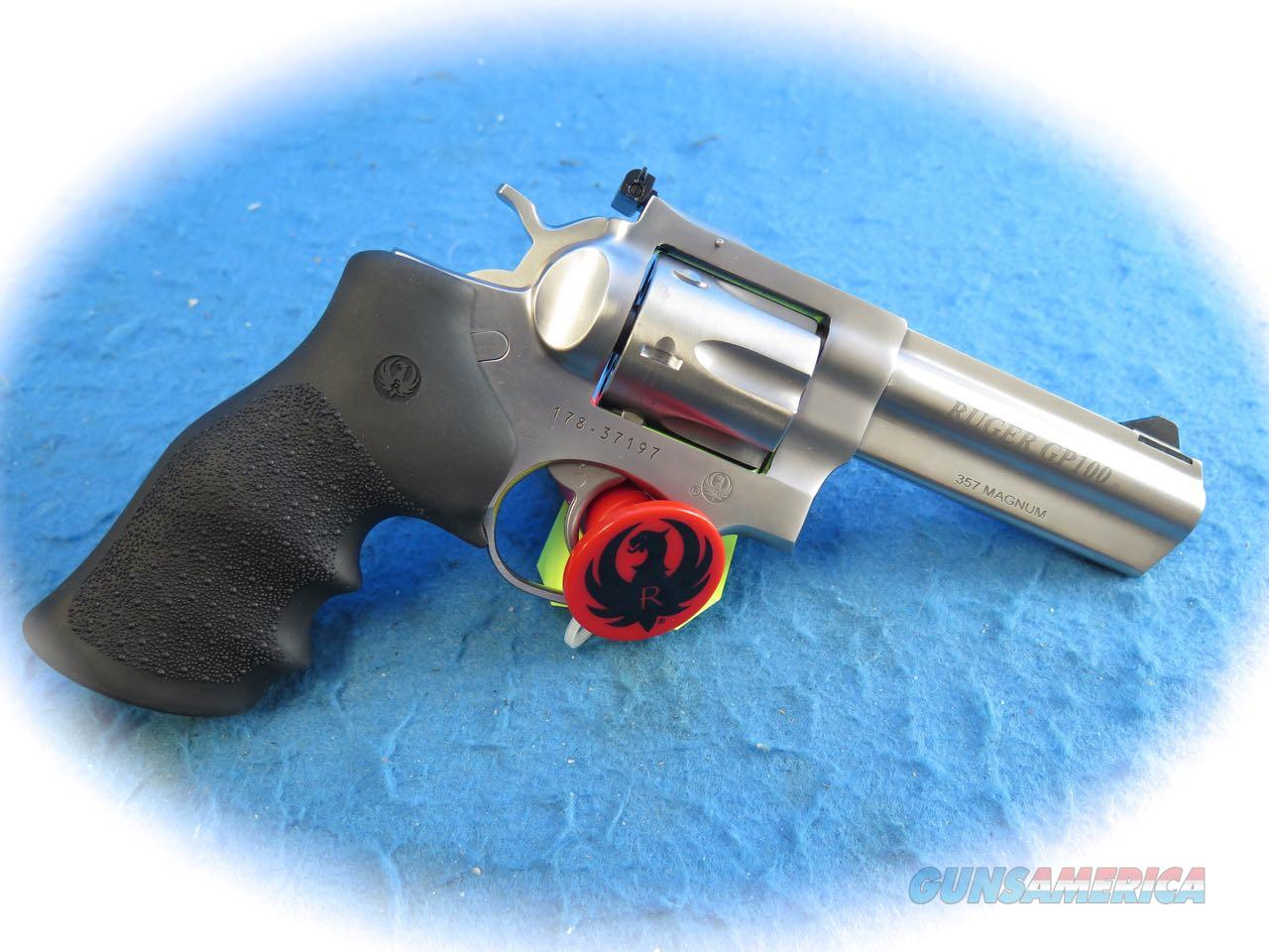 Ruger GP100 .357 Magnum SS DA Revolver Model 1705 **New**  Guns > Pistols > Ruger Double Action Revolver > GP100