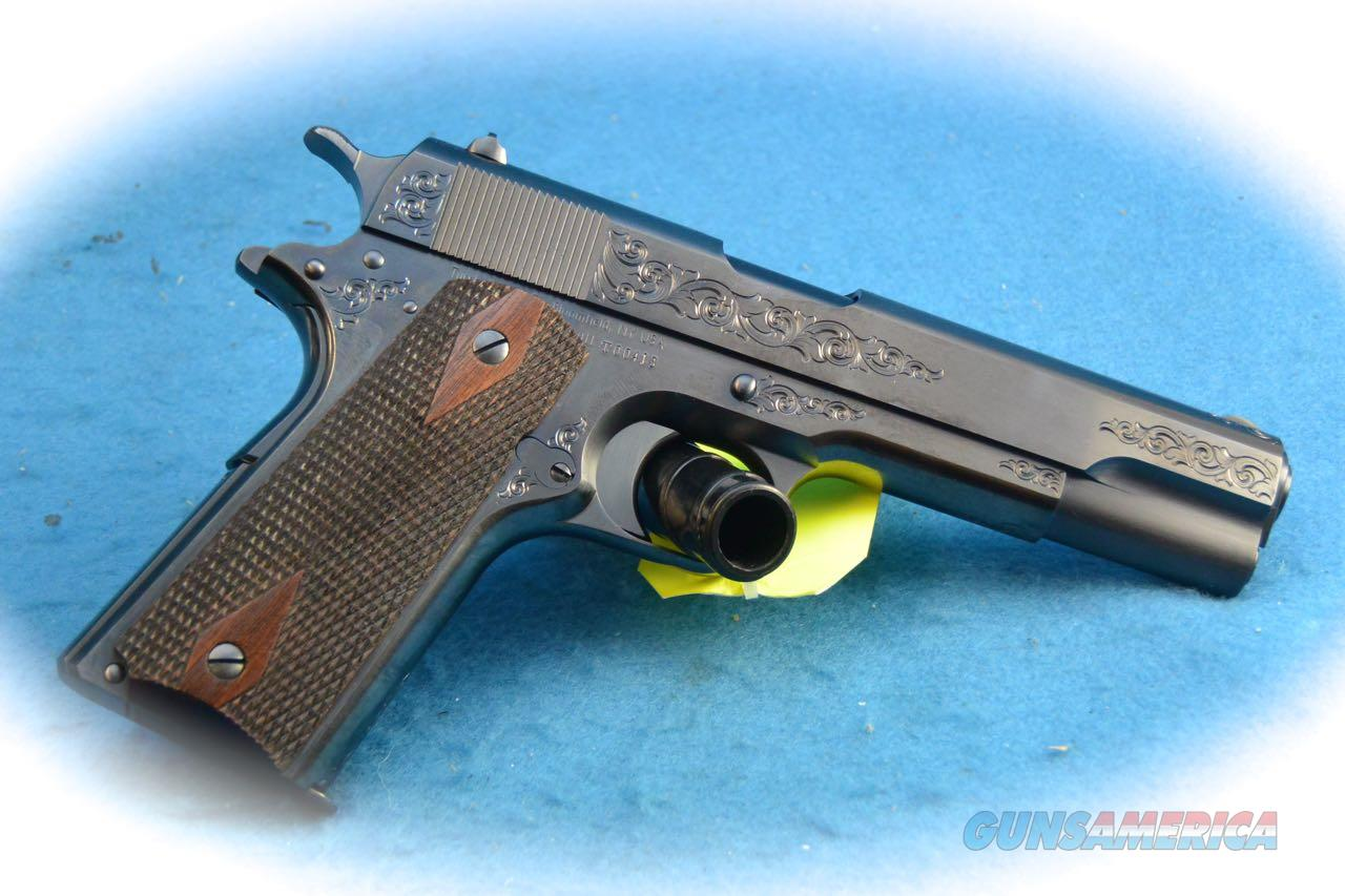 Turnbull Model 1911 C Coverage Engraving .45 ACP Pistol **New**  Guns > Pistols > Turnbull Manufacturing Pistols