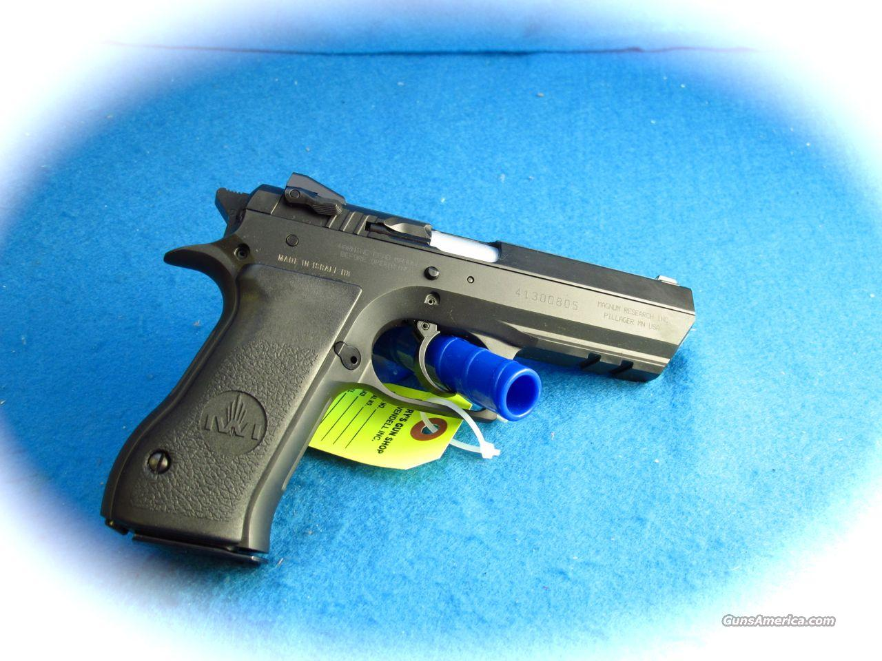 Magnum Research Baby Desert Eagle 9MM Pistol **New**  Guns > Pistols > Magnum Research Pistols