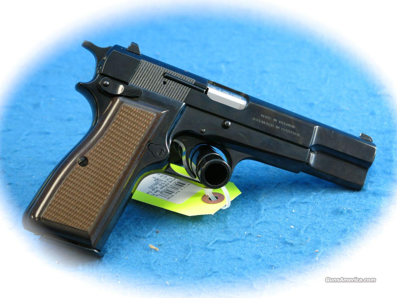 Browning Hi-Power Standard 9mm Pistol Model 051004393  **New**  Guns > Pistols > Browning Pistols > Hi Power
