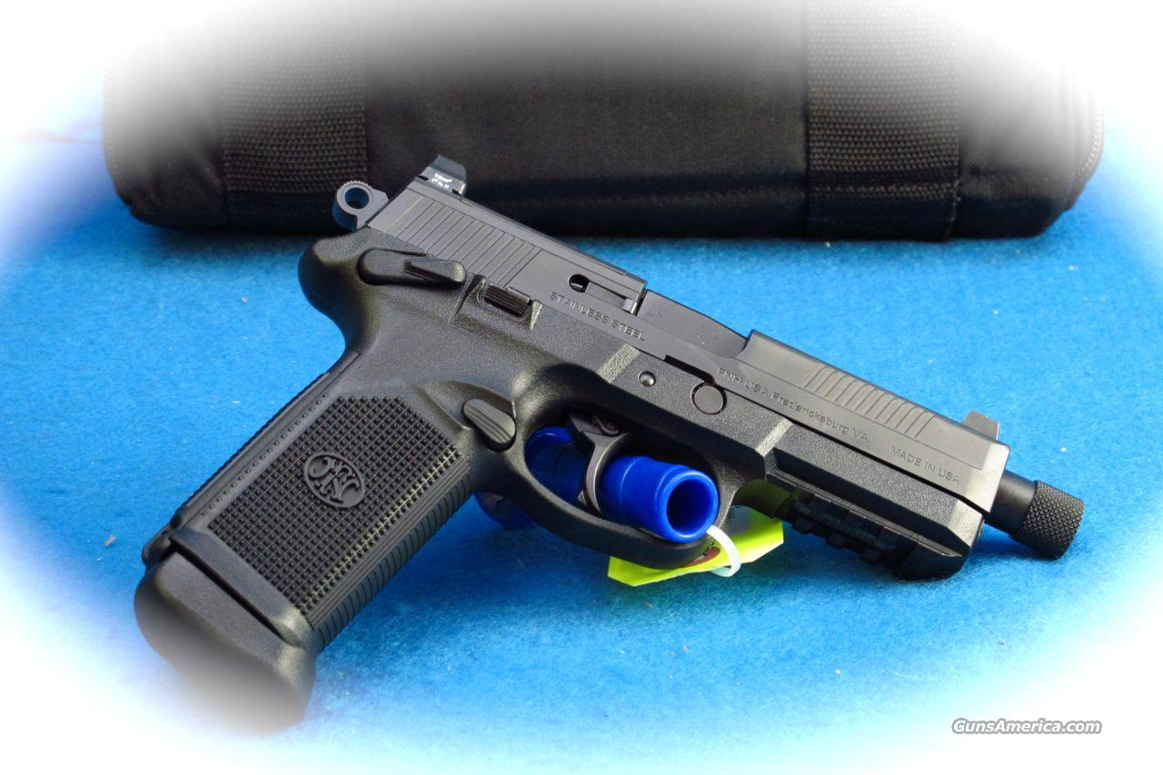 FN FHP Tactical 45 ACP Pistol Black **New**  Guns > Pistols > FNH - Fabrique Nationale (FN) Pistols > FNP