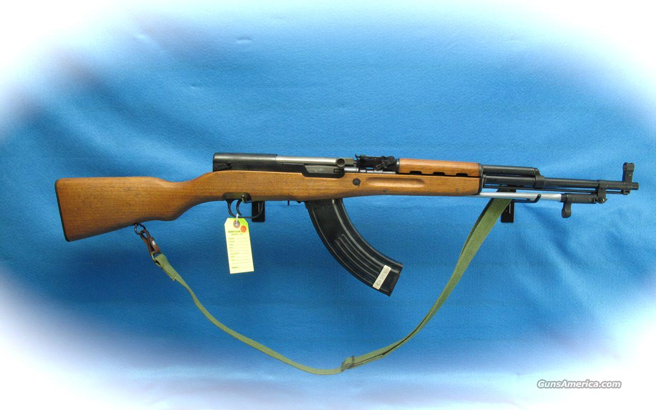SKS Semi Auto Rifle 7.62x39 Cal **Used**  Guns > Rifles > SKS Rifles