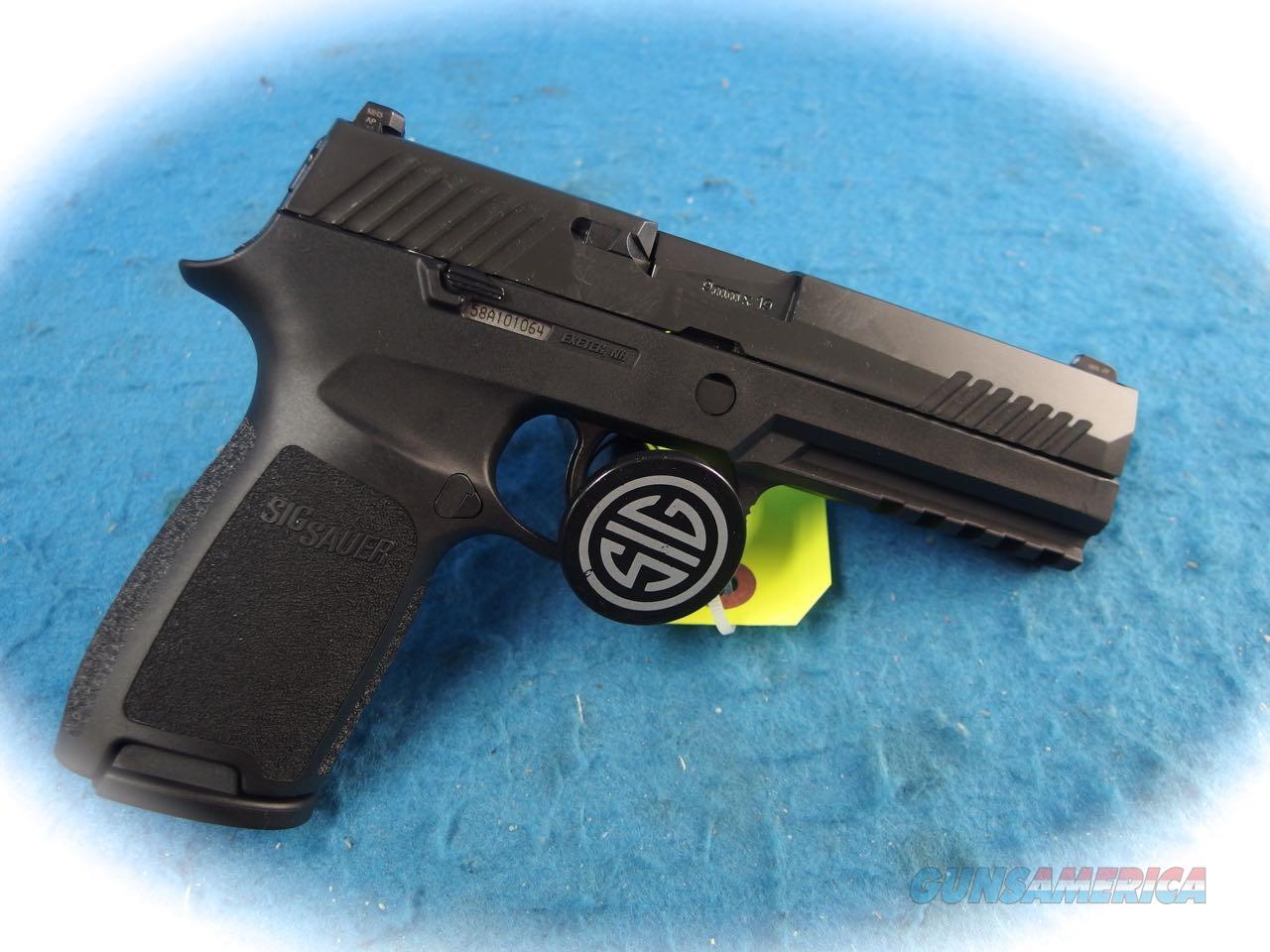 Sig Sauer P320 Full Size 9mm Semi Auto Pistol Model 320F-9-BSS **New**  Guns > Pistols > Sig - Sauer/Sigarms Pistols > P320
