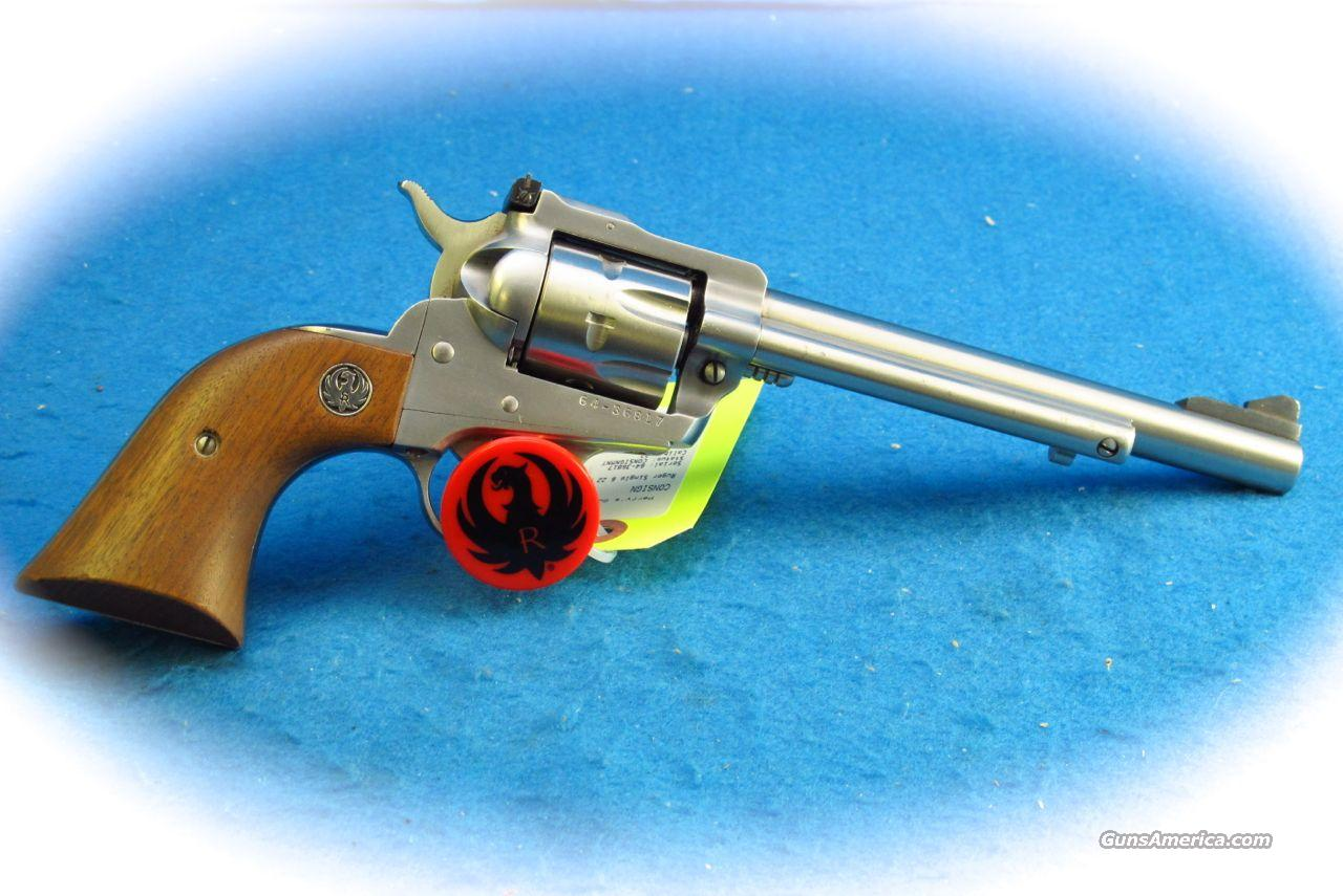 "Ruger Single Six .22 LR SS Revolver ""200th"" **Used**  Guns > Pistols > Ruger Single Action Revolvers > Single Six Type"