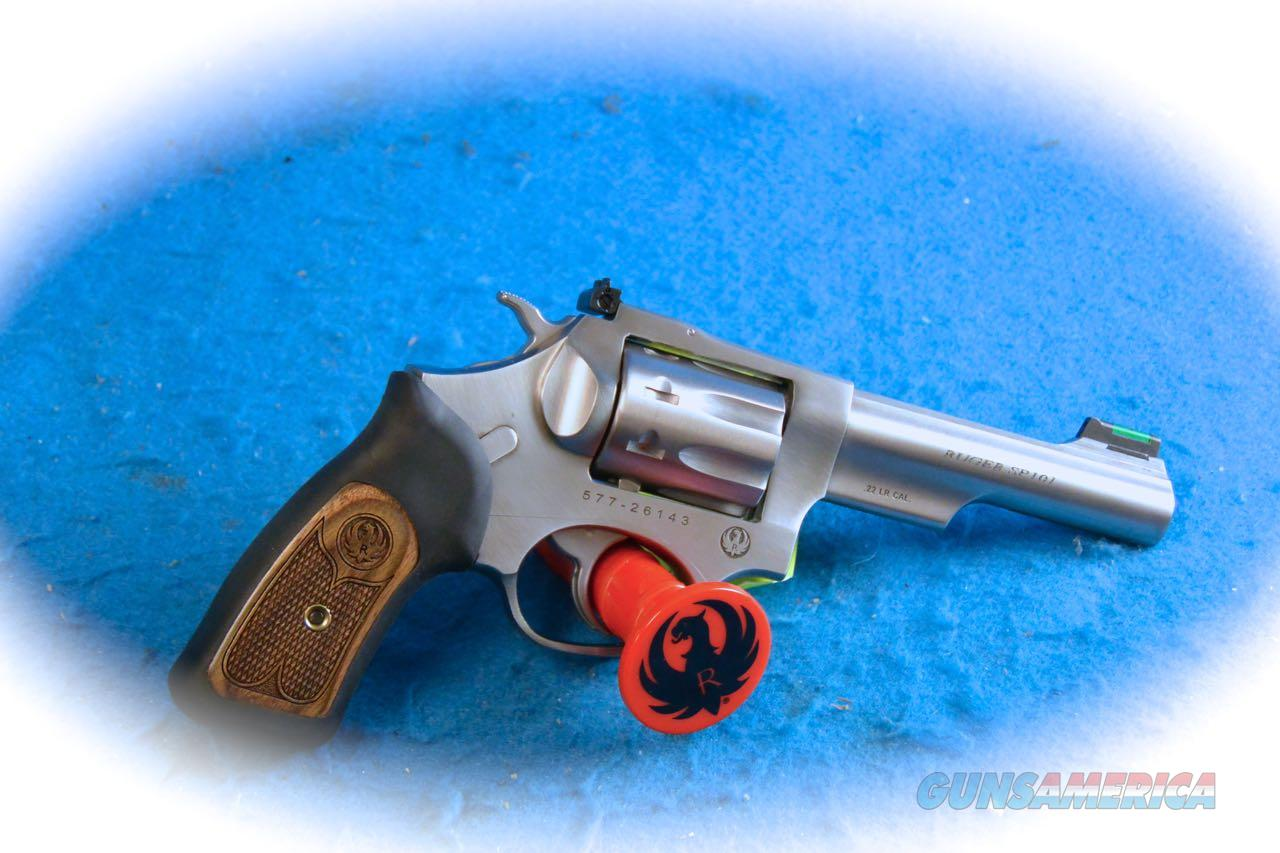 Ruger SP101 .22LR Revolver  SS  Model 5765 **New**  Guns > Pistols > Ruger Double Action Revolver > SP101 Type