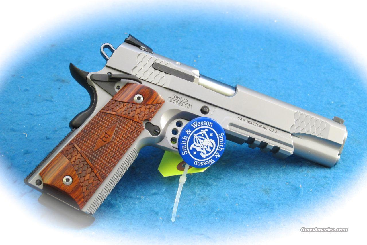 Smith & Wesson SW1911TA E Series .45 ACP Pistol **New**  Guns > Pistols > Smith & Wesson Pistols - Autos > Steel Frame