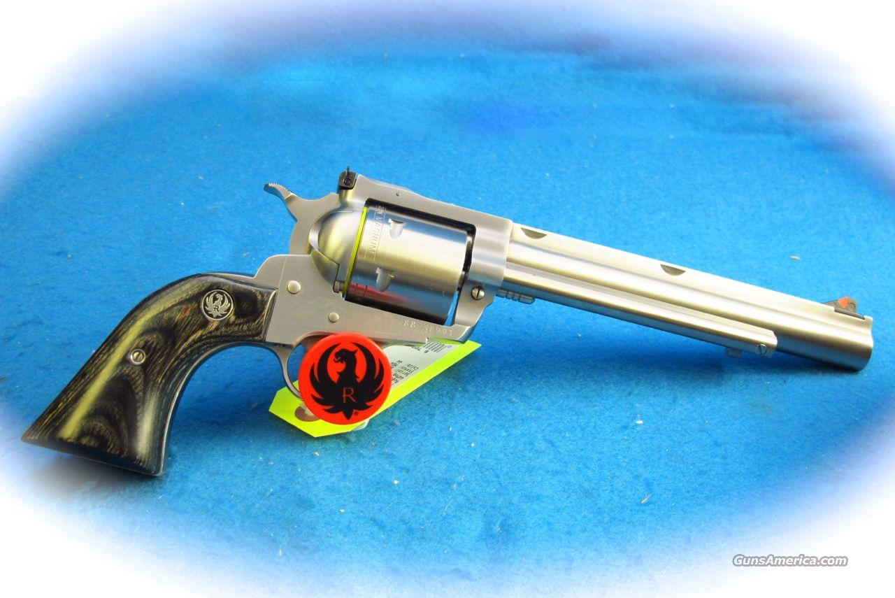 Ruger New Model Super BlackHawk Hunter .44 Mag SS Revolver **New**  Guns > Pistols > Ruger Single Action Revolvers > Blackhawk Type