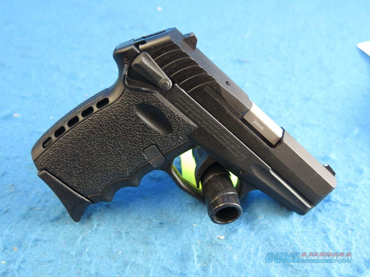 SCCY Model CPX-1 CB 9mm Pistol Black/Black **New**  Guns > Pistols > SCCY Pistols > CPX1