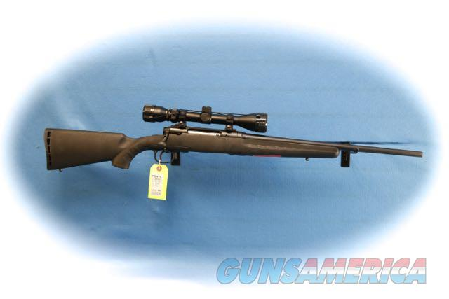 Savage Axis Compact Bolt Action Rifle/Scope Pkg. 7mm-08 Rem Cal Model 19198 **New**  Guns > Rifles > Savage Rifles > Axis