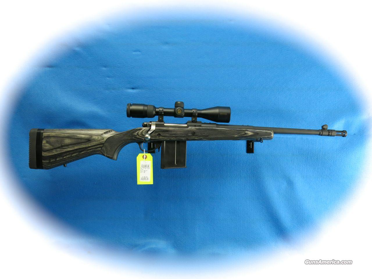 Ruger M77 Gunsite Scout Bolt Action Rifle .308 Win w/Nikon Scope **Used**  Guns > Rifles > Ruger Rifles > Model 77