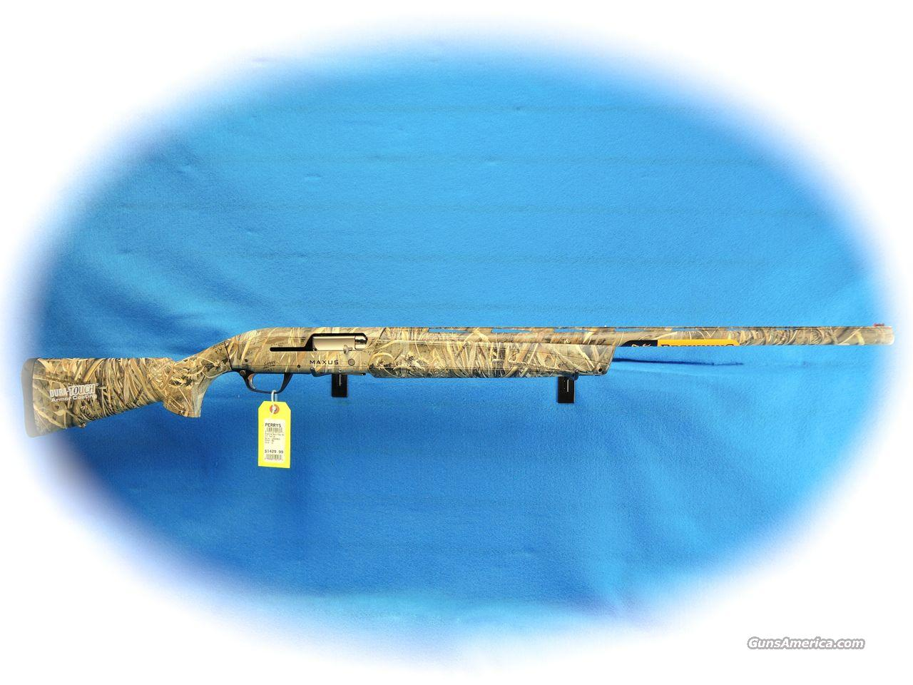 Browning Maxus 3.5 12 Ga. Semi Auto Shotgun Max-5 Camo **New**  Guns > Shotguns > Browning Shotguns > Autoloaders > Hunting