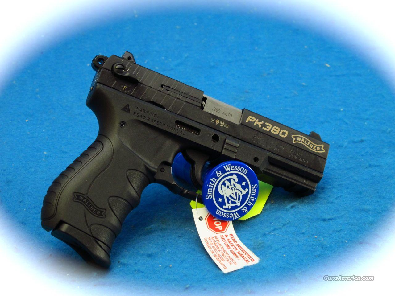 Walther PK380 Pistol .380 Caliber **New**  Guns > Pistols > Walther Pistols > Post WWII > PP Series