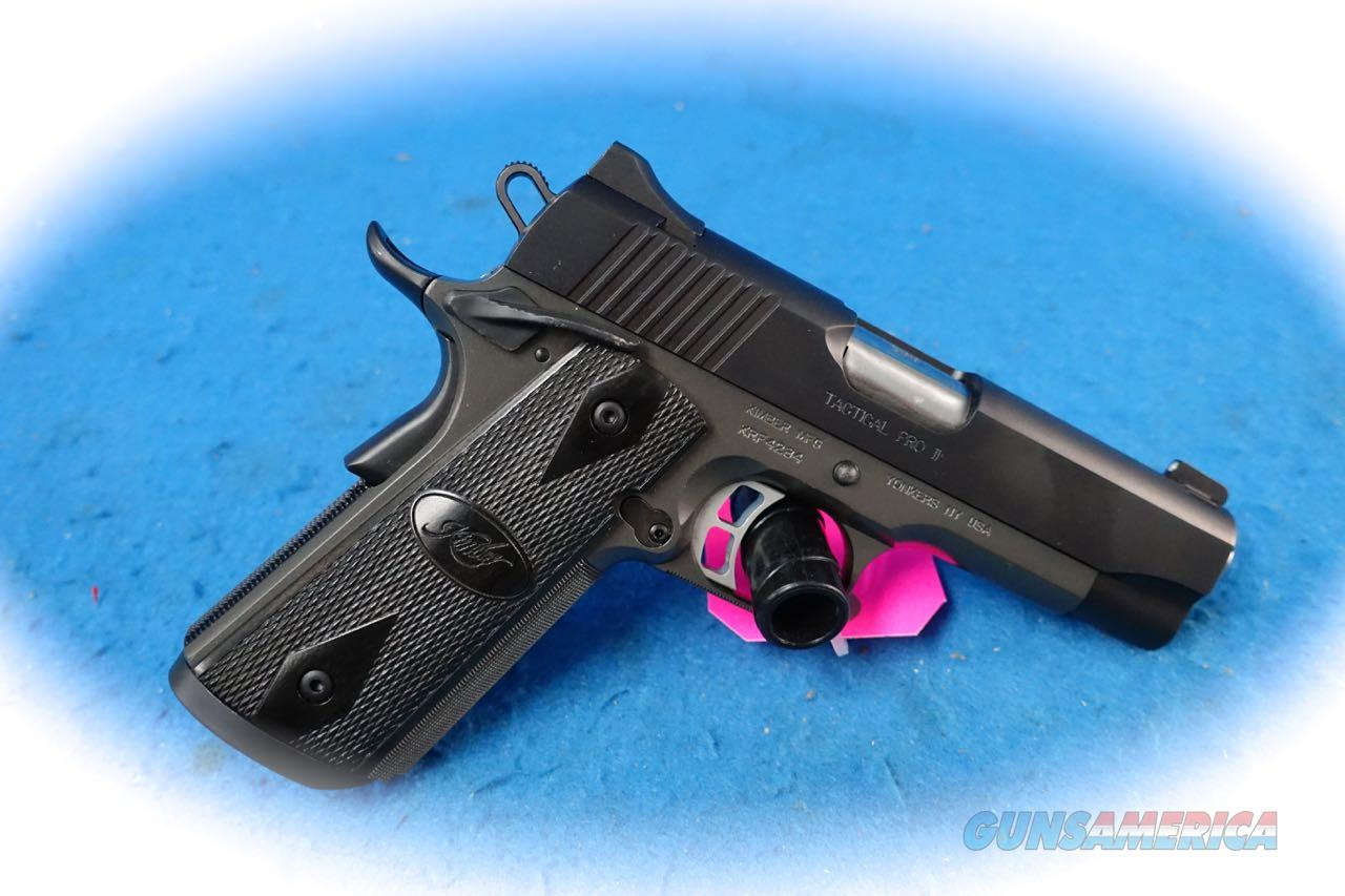 *FINAL REDUCTION* Kimber 1911 Tactical Pro II 9mm Pistol **Used**  Guns > Pistols > Kimber of America Pistols > 1911