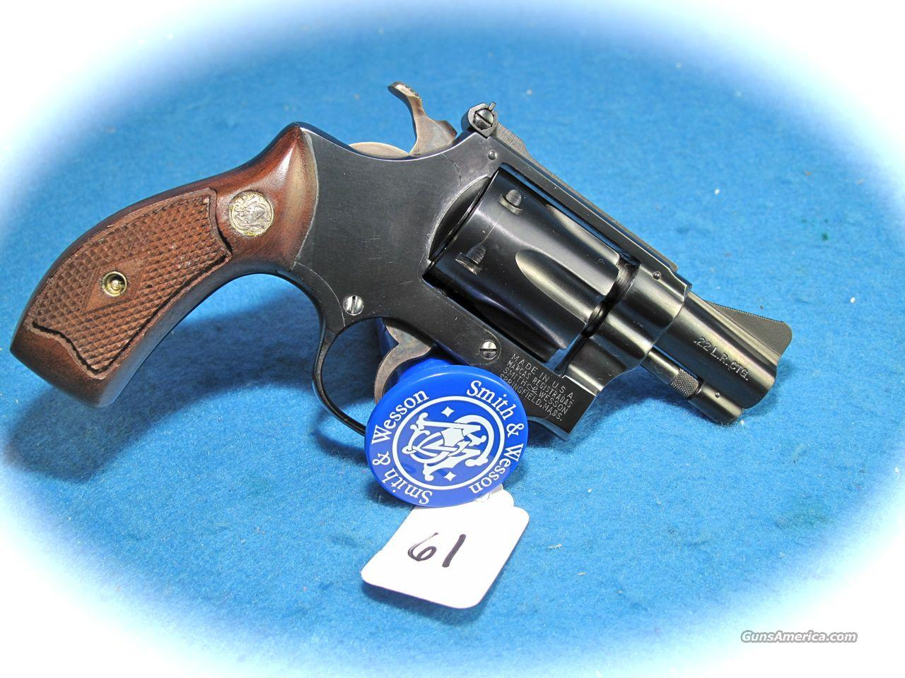 "Smith & Wesson Model 34-1 22LR 2 Inch Blue ""Diamond Grips"" **LIKE NEW**  Guns > Pistols > Smith & Wesson Revolvers > Pocket Pistols"