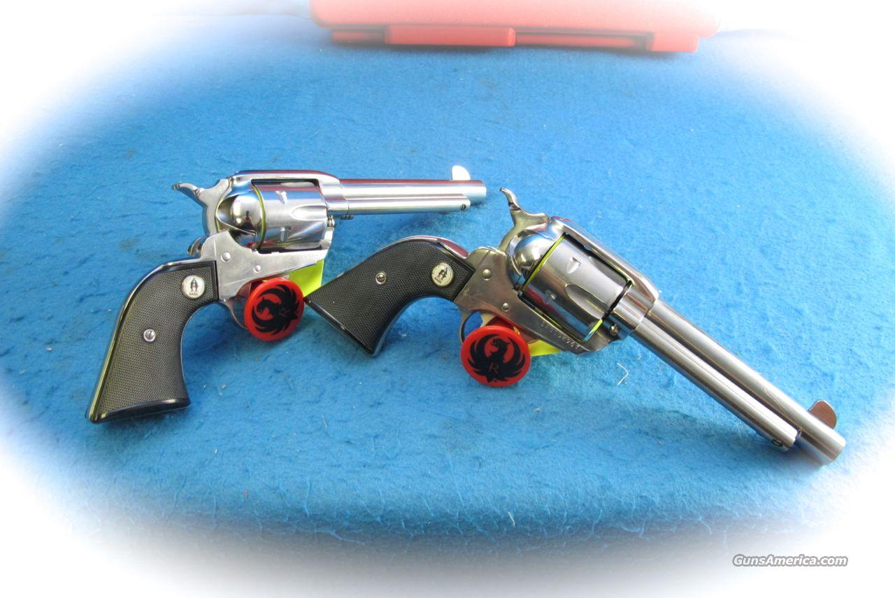Ruger SASS Vaquero Single Action 2 Gun Revolver Set .45 Colt **New**  Guns > Pistols > Ruger Single Action Revolvers > Cowboy Action