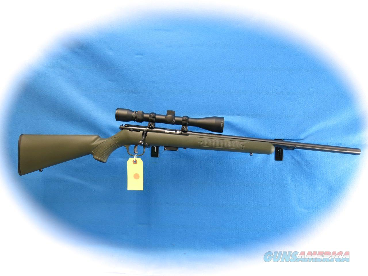 Savage Model 93 Bolt Action .22 Magnum Rifle w/Scope **Used**  Guns > Rifles > Savage Rifles > Accutrigger Models > Sporting