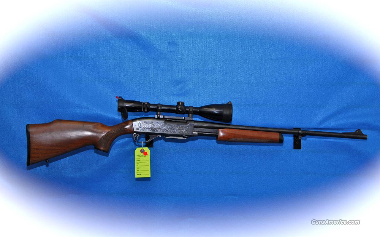 Remington 7600 Pump Action 280 Rem Cal Rifle w/Scope **USED**  Guns > Rifles > Remington Rifles - Modern > Other