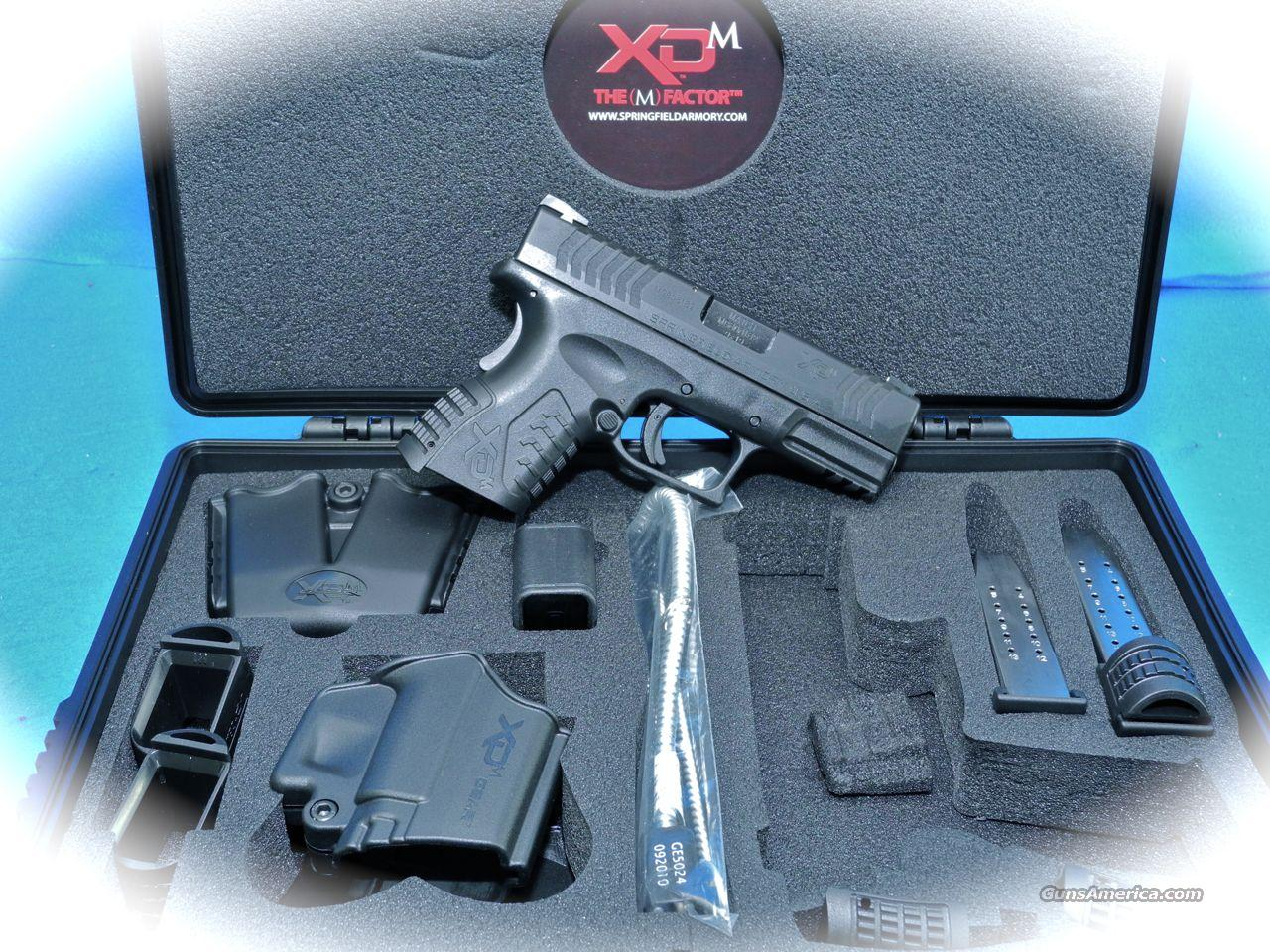 Springfield Armory XD-M 9mm Compact Pistol **New**  Guns > Pistols > Springfield Armory Pistols > XD (eXtreme Duty)