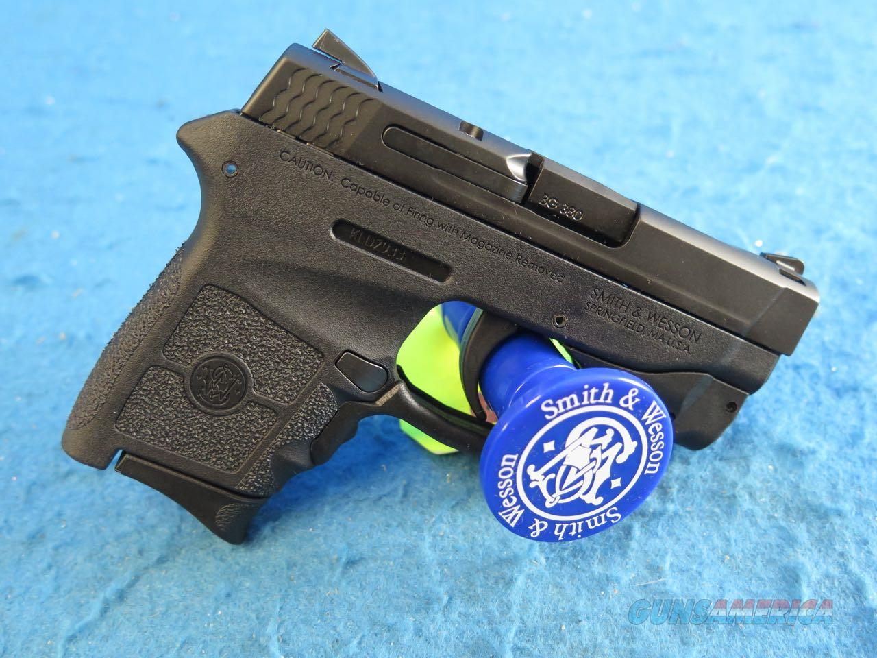 Smith & Wesson M&P Bodyguard Crimson Trace Green Laserguard .380 ACP Pistol SKU 10178 **New**  Guns > Pistols > Smith & Wesson Pistols - Autos > Polymer Frame