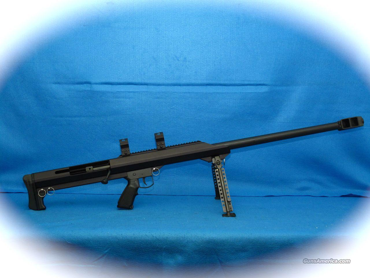 Barrett Model 99 Big Shot 50 BMG Cal Rifle *USED**  Guns > Rifles > Barrett Rifles