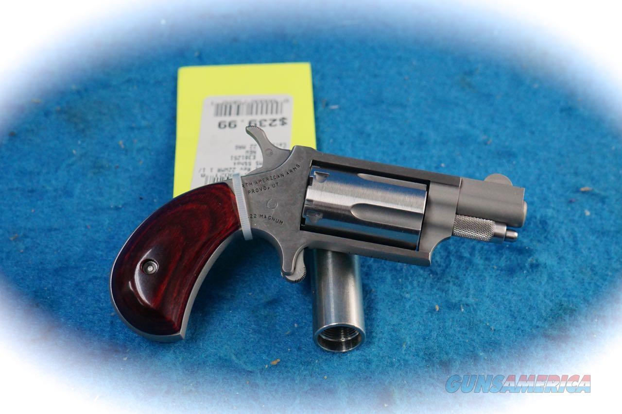 North American Arms NAA-22MS .22 Mag Mini Revolver **New**  Guns > Pistols > North American Arms Pistols