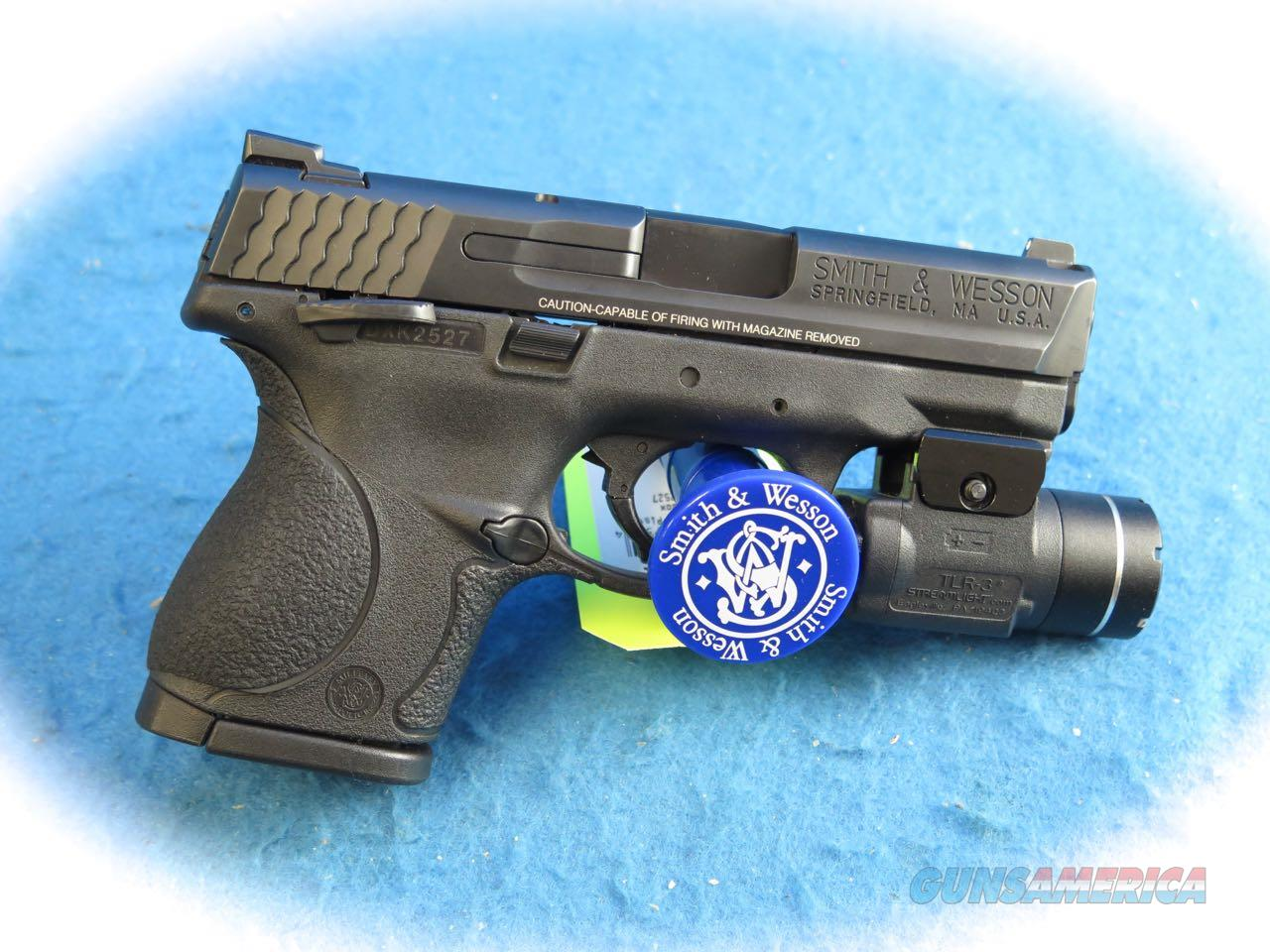 Smith & Wesson M&P9c 9mm Pistol W/TLR3 Light **Used**  Guns > Pistols > Smith & Wesson Pistols - Autos > Polymer Frame
