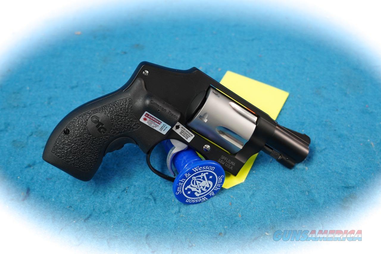 Smith & Wesson Model 442-1 .38 Spl +P Revolver w/Laser Grip **Used**  Guns > Pistols > Smith & Wesson Revolvers > Small Frame ( J )