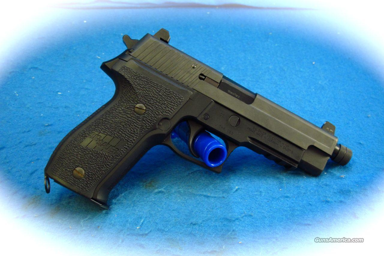 Sig Sauer P226 SRP  Tactical S4 9mm Pistol TB **Used**  Guns > Pistols > Sig - Sauer/Sigarms Pistols > P226