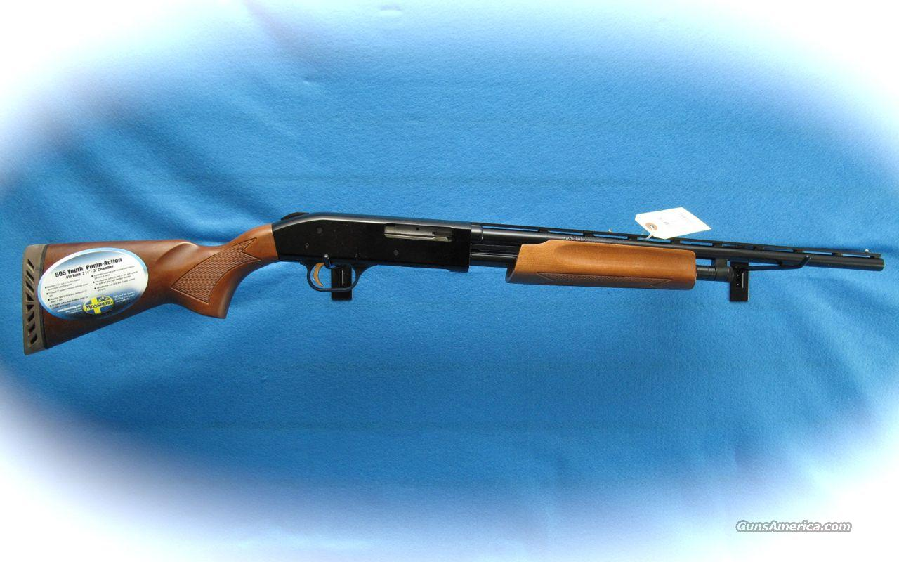 Mossberg 505 Youth Model 410 pump Shotgun **NEW**  Guns > Shotguns > Mossberg Shotguns > Pump > Sporting