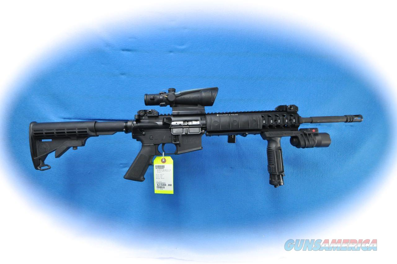 Smith & Wesson M&P-15 Semi Auto Rifle w/Accessories **Used**  Guns > Rifles > Smith & Wesson Rifles > M&P