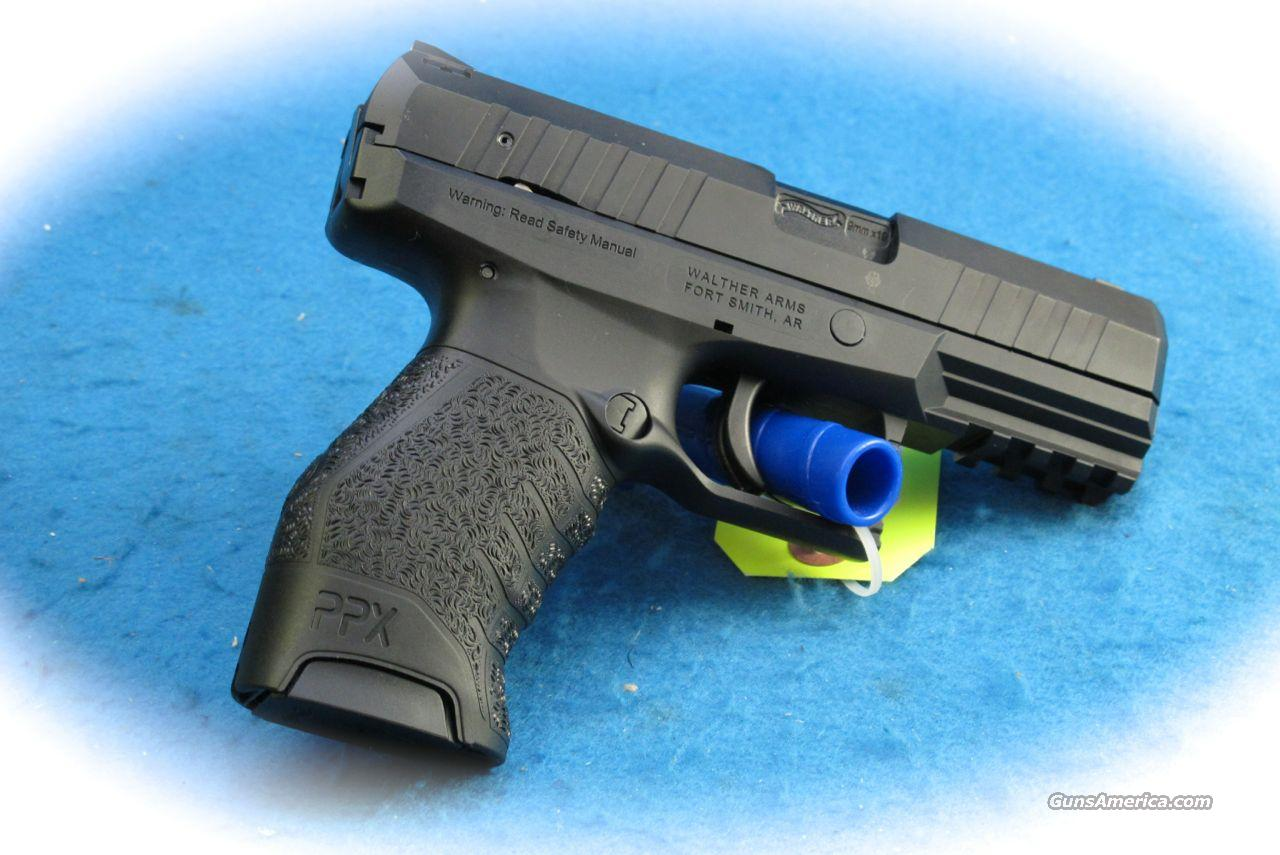 Walther PPX 9mm Semi Auto Pistol **New**  Guns > Pistols > Walther Pistols > Post WWII > PPS