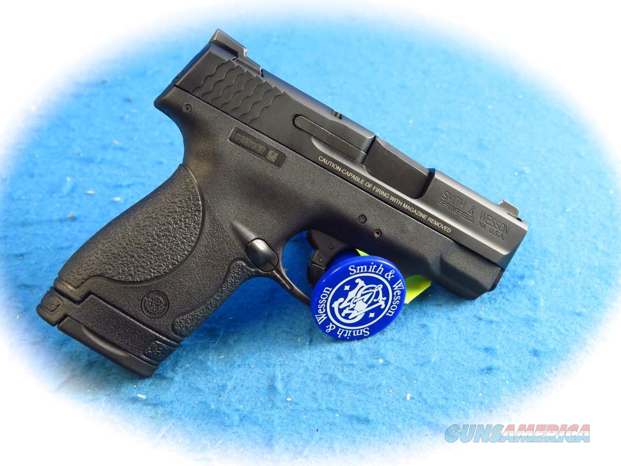 Smith & Wesson M&P Shield 9mm Pistol W/ Night Sights Model 10086 **New**  Guns > Pistols > Smith & Wesson Pistols - Autos > Shield