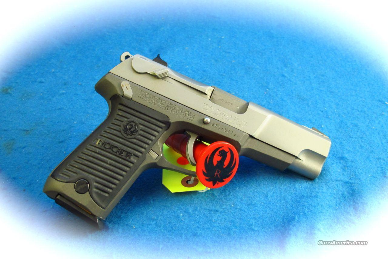 Ruger P90DC .45 ACP Semi Auto Pistol **Used**  Guns > Pistols > Ruger Semi-Auto Pistols > P-Series