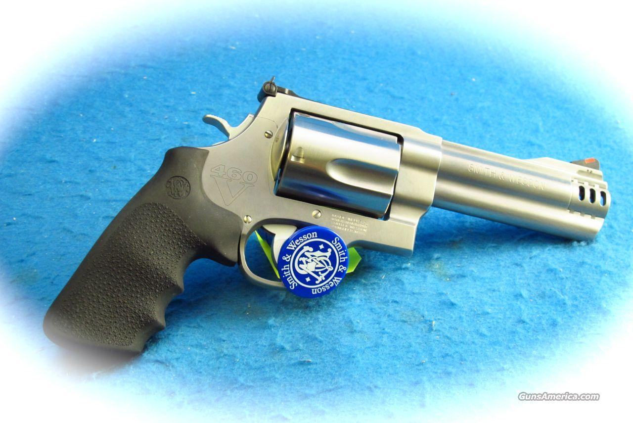 Smith & Wesson 460V SS Revolver .460 S&W Magnum Cal. **Used**  Guns > Pistols > Smith & Wesson Revolvers > Full Frame Revolver