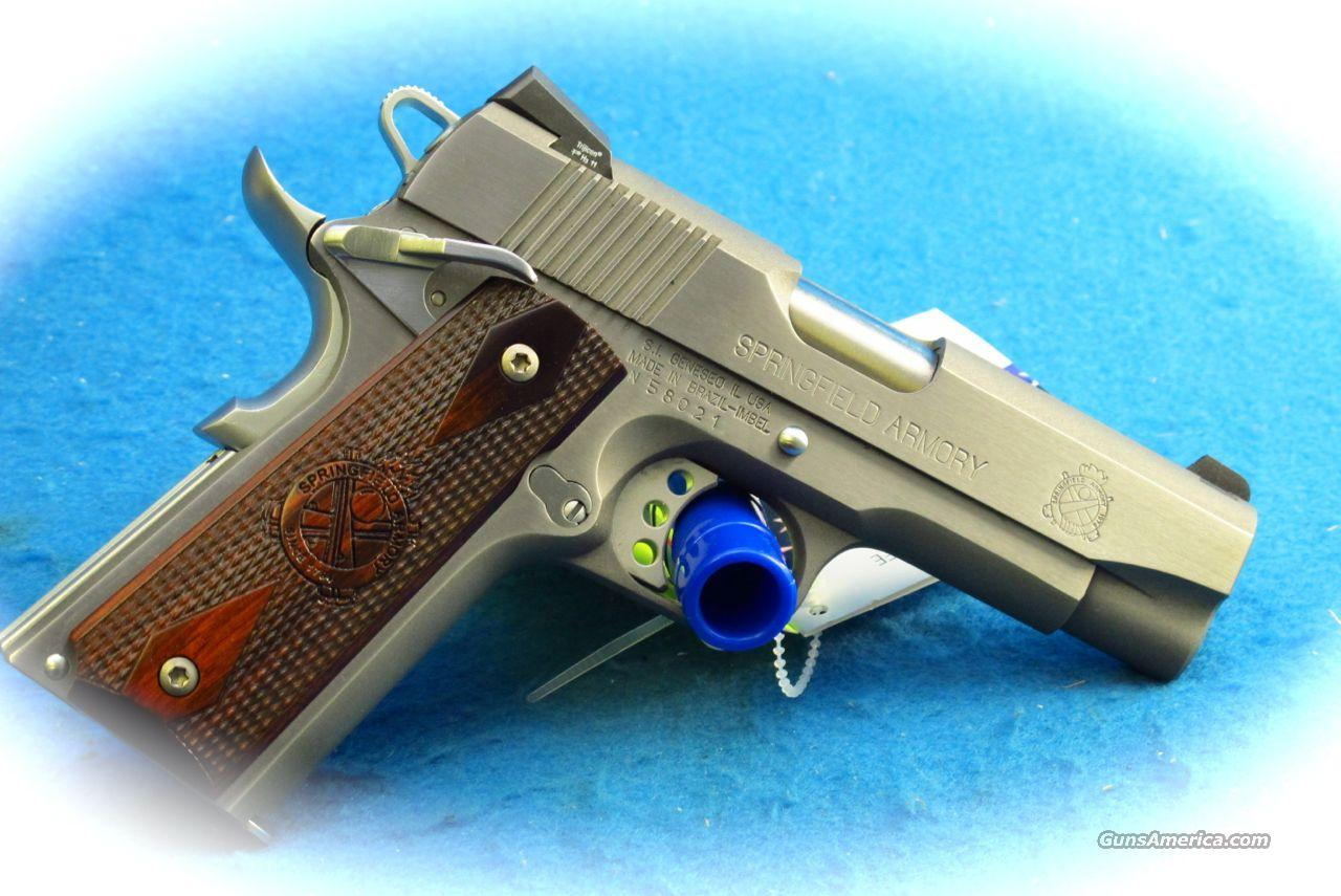 Springfield Armory 1911 Loaded Champion 4 SS Pistol **New**  Guns > Pistols > Springfield Armory Pistols > 1911 Type